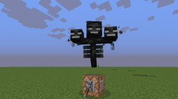 Minecraft Custom Mob: Super Wither Minecraft Map & Project