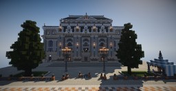 Memorial Square Theatre, 50sub special! Minecraft Map & Project