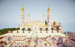 Sheikh Zayed Grand Mosque (جامع الشيخ زايد) Minecraft Map & Project