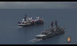 container ship Minecraft Project