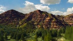 Maccheroni Western - Custom Terrain - 4K x 4K Minecraft