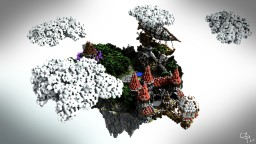 Annihilation Floating Server Spawn Minecraft Map & Project