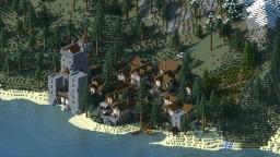 Emprise Medieval VIllage Minecraft