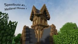 Speedbuild #1 - Medieval House 1 Minecraft Map & Project