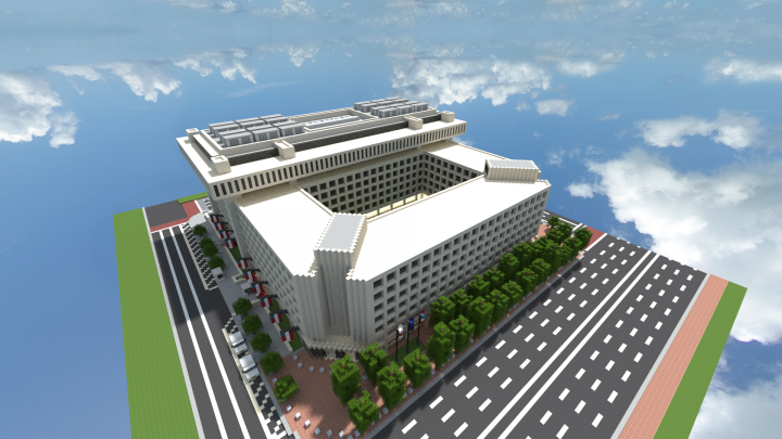 Fbi Hoover Building Washington Dc Minecraft Project