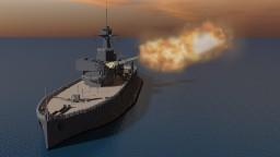 HMS Erebus (1916) 4:1 Scale Minecraft