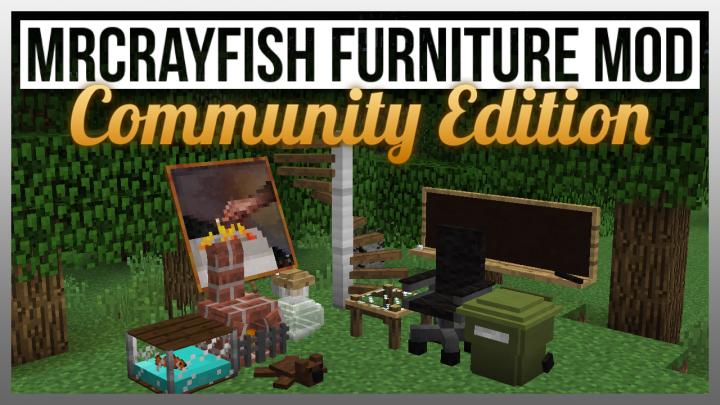 1 8 9 1 8 Mrcrayfish 39 S Furniture Mod Community Edition A Community Based Furniture Mod