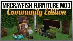 [1.8.9/1.8] MrCrayfish's Furniture Mod: Community Edition - A Community Based Furniture Mod Minecraft