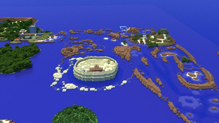 Ocean Routes Render