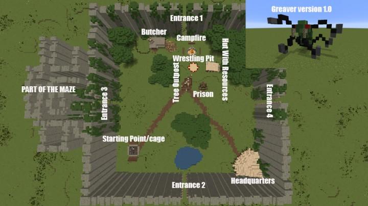The Maze Runner Minecraft Map