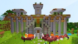 Redstone Fortress (Recreated In MCPE) Minecraft Blog Post