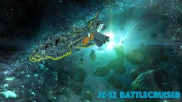 JZ-32 Battlecruiser (killzone concept) Minecraft