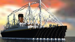 RMS Carpathia [1:1 Scale!] Minecraft Map & Project