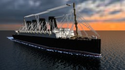 RMS Lusitania [1:1 Scale Replica!] Minecraft Map & Project
