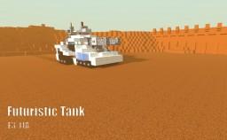 E3-11A Minecraft Futuristic Tank Minecraft