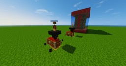 The item sorting machine - Only one Command - Vanilla Mod Minecraft Project