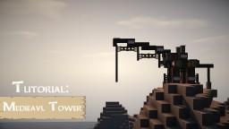 Medieval Crane Tutorial Minecraft