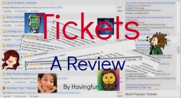 Tickets: A Review Minecraft Blog Post