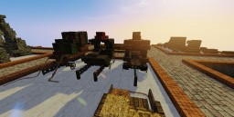 MEDIEVAL: Carrieges, carts, war machines, natural ground Minecraft