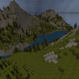 Austrian Alpine Valley Minecraft Map & Project