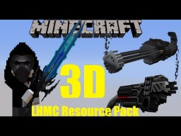 LHMC 3D PvP Resourece Pack 1.11 20,000+ Downloads Minecraft Texture Pack