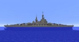 Superheavy Dreadnaught / Battleship Minecraft Map & Project