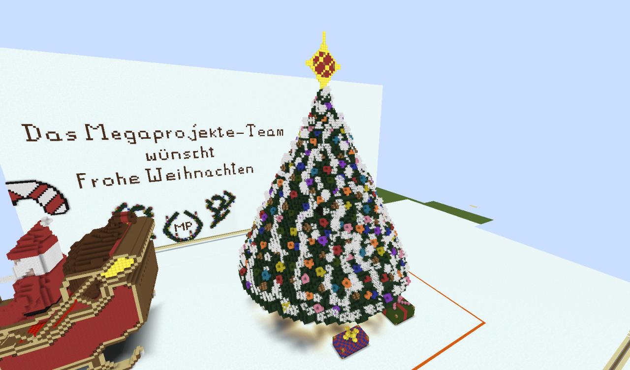 Foto Weihnachtsbaum.Weihnachtsbaum Minecraft Project