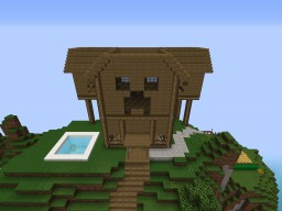 EPIC Mountain Mansion Minecraft Map & Project