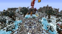 Winter Hub Minecraft Map & Project