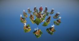 Steampunk skywars map Minecraft Project