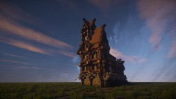 Medieval tower house Minecraft Map & Project
