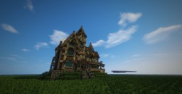 Carson Mansion Inspired Build Minecraft Project