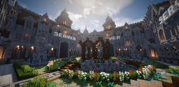 [HUB] Kings Courtyard Minecraft Map & Project