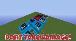 Dont Take Damage!!! v 1.0 Minecraft Map & Project