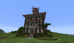 Quartier Latin - From Up on Poppy Hill Minecraft Map & Project
