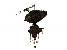 Airship : scout from the big fleet #WeAreConquest Minecraft Map & Project