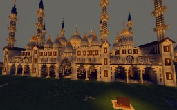 Arabian courthouse Minecraft Map & Project