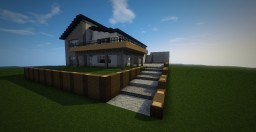Modernish House Minecraft Project