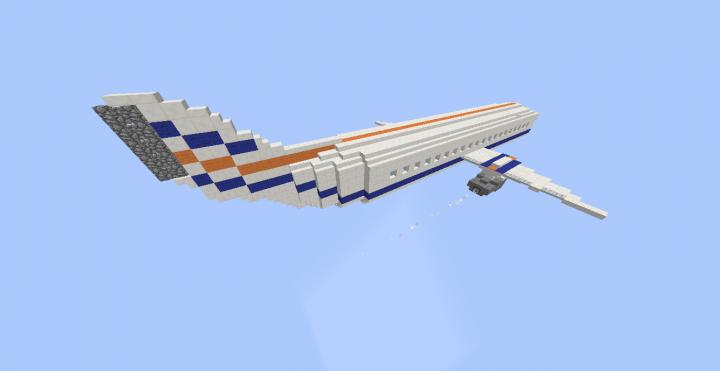 The Plane in Flight