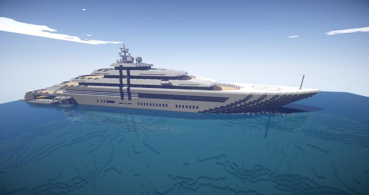 Orana Mega Yacht Minecraft Project
