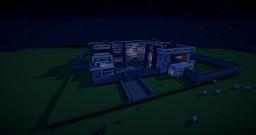 Modern Mansion Minecraft Map & Project