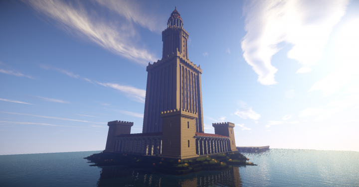 Ancient Lighthouse - Pharos inspired Minecraft Project on davis islands map, prince islands map, king islands map, hall islands map, berry islands map,