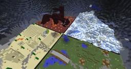Minecraft Kit-PvP Custom Arena Minecraft Map & Project