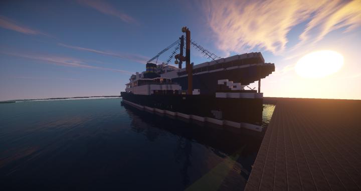 DS Alexandra on the Shipyard