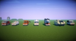 Vehicle Pack Minecraft Map & Project