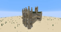 English Gothic Cathedral Minecraft Map & Project