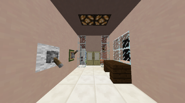 Modern Day House My House Minecraft Project