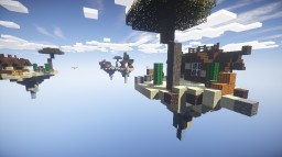 Minecraft Skywar map for 4 players Minecraft Project