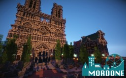 Mordone* Cathedral Minecraft Map & Project