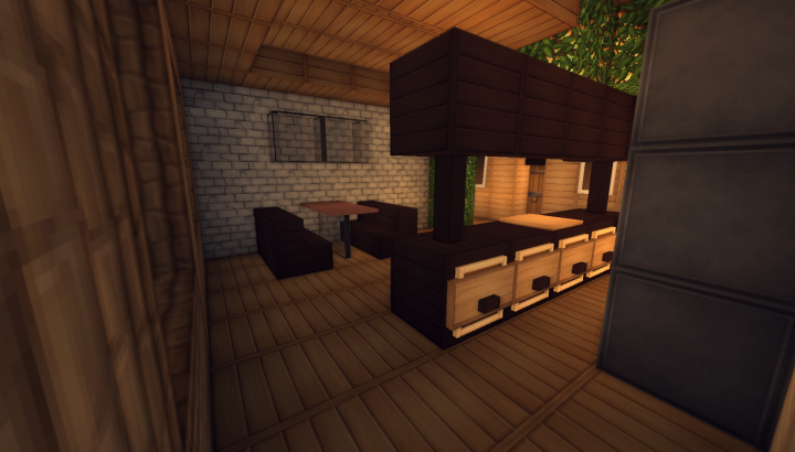 Simple Log Cabin Minecraft Project